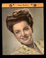 Anne Baxter JSA Coa Hand Signed 8x10 Photo Autograph