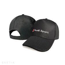 AUDI Sport Line CARBON Unisex Kappe Logo Einstellbare Mütze Baseball Cap