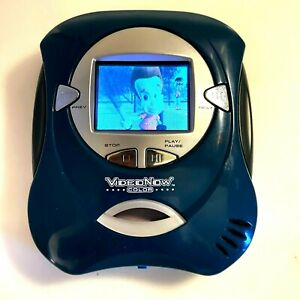 Hasbro VideoNow Color Personal Video Player Teal Blue Green w/ Disc   Works