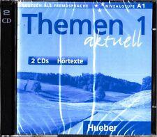 Hueber THEMEN AKTUELL 1 CDs Hortexte Niveaustufe A1 @BRAND NEW@