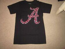 Alabama Crimson Tide black T- shirt SMALL- NWT