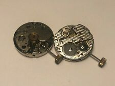 NEW OLD STOCK FE 233-60 WIND-UP WRISTWTACH MOVEMENT SUB-SECOND SIZE 101/2'''
