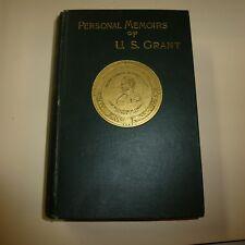 PERSONAL MEMOIRS OF U. S. GRANT IN TWO VOLUMES VOL. II- 1886 -CHARLES WEBSTER