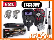GME TX3350UVP UHF CB RADIO- 80CH 5 WATT COMPACT ANTENNA ULTIMATE VALUE PACK