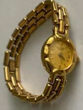 Women's  BULOVA WATCH Made In WEST GERMANY Gold Tone 510-92H39 -New Battery