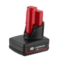 For Milwaukee M12 48-11-2460 LITHIUM 48-11-2412 XC Extend Cordless Battery 5.0AH