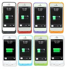 2200mAh Iphone 5/5C/SE Externo Cargador De Batería de Respaldo Estuche Cubierta