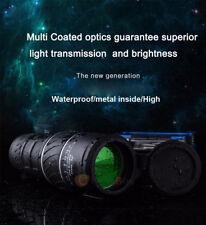 40x60 HD Optical Monocular Day & Night Vision Hunting Camping Hiking Telescope