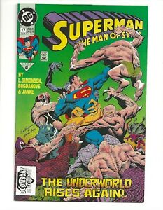 Superman, The Man of Steel #17 (1992) 1st Print 1st app. of Doomsday VF 8.0