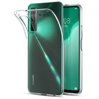 Handy Case für Huawei P40 Lite 5G Hülle Transparent Slim Tasche Handyhülle Cover