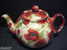 Heron Cross Pottery Poppy Chintz English 6-8 Cup Tea Pot