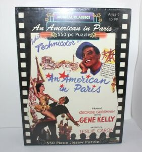 Musical Classics An American In Paris Jigsaw Puzzle 550 Piece Brand New 2006