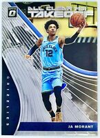 2019-20 PANINI JA MORANT ROOKIE Card RC DONRUSS OPTIC ALL CLEAR FOR TAKEOFF