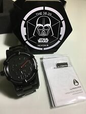 Nixon Darth Vader 38-20 Sw Vader Black Collectors Edition Adult Watch