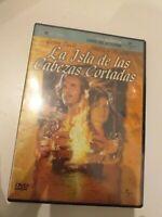 DVD   LA ISLA DD LAS CABEZAS CORTADAS CON GEENA DAVIS Y M .M (nuevo precintado)