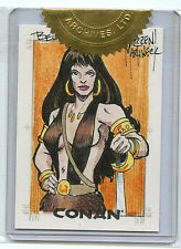 Belit Sketch Card Conan Art of the Hyborian Age Rittenhouse New 2004 B1