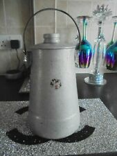 New listingVintage Lidded Milk Water Churn Can Handle Container Kitchen Garden Aluminium