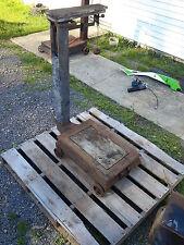 Antique Platform Scale Vintage Grain Standard Fairbanks Howe Ruthland, VT NO. 9
