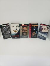 Lot Of 5 Halloween Horror Vhs Tapes friday the 13th, pet semantary, the shining