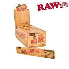 RAW Classic Lean 20 Cones/1 Pack. Raw Prerolls, Raw rolling papers, Raw Cones
