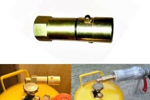 gaslow,gasit, other refilable gas tanks direct refill propane gas, jic 3/4unf