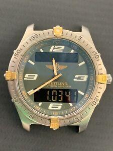 BREITLING AEROSPACE QUARTZ MEN WATCH REF. F65362