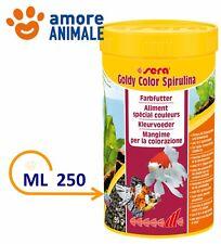 Sera Goldy Color - 250 ml - Spirulina Mangime in granuli per pesci rossi