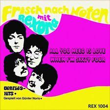 "7"" GÜNTER NORIS All You Need Is Love / When I'm Sixty Four BEATLES REXONA A 1969"