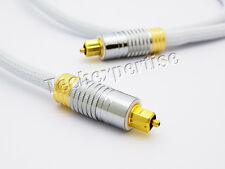1.5m Premium Toslink Optical Cable Fibre S/PDIF 5.1 6.1 7.1 7.2 Digital Audio