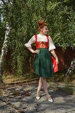 Trachten Dirndl Kleid OKTOBERFEST Wiesn Bayern 70er TRUE VINTAGE 70's bestickt