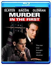 MURDER IN THE FIRST (Christian Slater)  -  Blu Ray - Sealed Region free for UK