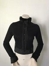 Alannah Hill Women My Little Cat Jacket Size 10. Black. Cropped