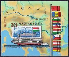 Ungarn 1981 Block 153 B ungezähnt ** Donaukommission Schiffe 35,-- EUR