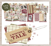 Sara Signature A WINTERS TALE Dies Accessories & Paper By Crafters Companion