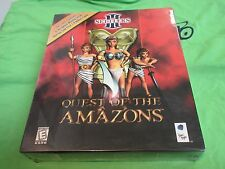 SETTLERS III - QUEST OF THE AMAZONS - Retail Box - PC CDRom Game