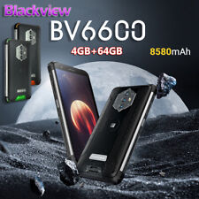 "Blackview BV6600 Waterproof Phone 4GB+64GB Octa Core 5.7"" FHD Android 10 8580mAh"