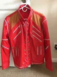 michael jackson beat it jacket Medium M