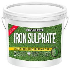 Iron Sulphate 1kg Killer Miracle Moss Evergreen Grass Turf Greener Gro Lawn Feed