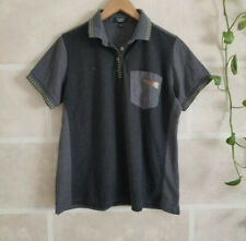 Large Mens McDonalds Gray Timeless Elements Polo Shirt Uniform