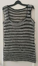 Handmade ringpull bottle top silver bespoke Upcycle chainmail recycle dress M 12