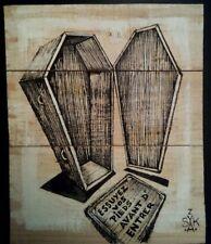 SKAYZOO (FR) graffiti signé sur bois 20x25cm -cope2/seen/taki/quik/RD357/duster