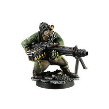 Ork War2 Ork mit Fettawumme Orc MG42 Gunner Kromlech