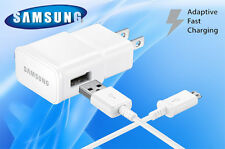 NEW OEM Samsung Galaxy Note 4 5 S6 S7 Edge Adaptive Fast Wall Charging + 5ft USB