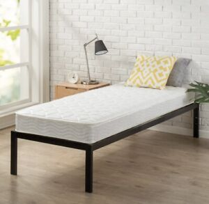 Zinus 6 Inch Spring Mattress, Narrow Twin/Cot Size/RV Bunk/Guest Bed Replacement