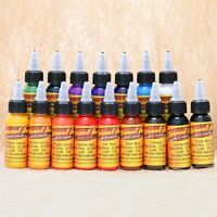 Professional Tattoo Ink 16 Colors 30ml/Bottle Tattoo Draw Health Beauty Pigment