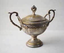 Antique Art Nouveau WMF Germany Two Handles Bowl Cup Silver Plated Stamped