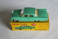 Dinky Toys  148 Ford Fairlane Pea Green - Lemon Interior
