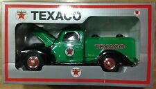 Taylor Sports Texaco 1940 Ford Tanker coin bank w/key only 750 produced.
