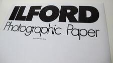 ILFORD B W Photographic -  Paper 10 Sheets - 50,8 x 61cm