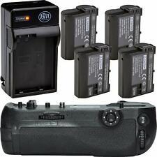 Mb-D18 Replacement Battery Grip for Nikon D850 + 4 En-El15 Batteries + Charger